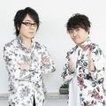 (左)速水奨さん、野津山幸宏さん(所属事務所提供)