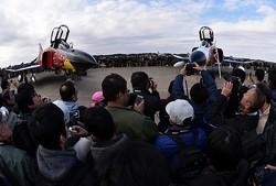 航空自衛隊百里基地で航空祭
