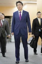 安倍首相は責任感を持って発言しているのだろうか(写真/共同通信社)