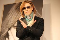 YOSHIKIさん(写真は17年6月撮影)