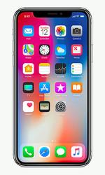 iPhoneXには韓国サムスン電子製の有機ELパネルが使われている(アップル提供)
