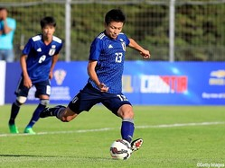 U-21日本代表FW上田綺世