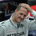 元フォーミュラワン(F1、F1世界選手権)ドライバーのミハエル・シューマッハ氏(2012年11月25日撮影)。(c)YASUYOSHI CHIBA / AFP