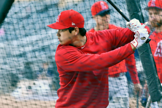 【MLB】大谷翔平、フリー打撃で術後最多19発! 「3番・DH」で4戦ぶりアーチに期待大