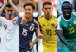 グループリーグ第2戦を迎えるH組の4か国。果たして、ここから抜け出すのは? 写真:Getty Images