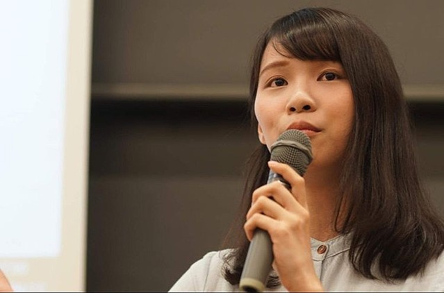 [画像] 香港民主活動の女神「本当に怖いけど、声を上げ続ける」
