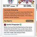 フェイクニュースやウソ情報はオレンジ色に Twitterがテスト