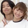 2020年3月に行われた復興支援プロジェクトで共演していた紗栄子とYOSHI(写真/産経ビジュアル)