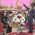 上沼恵美子(左)、松本人志