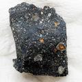 RNAの原料になる糖が検出された隕石(東北大の古川善博准教授提供)