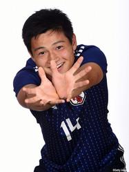 MF中野桂太(京都U-18)のU-17W杯ポートレート
