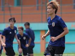 U-21日本代表DF板倉滉(仙台)