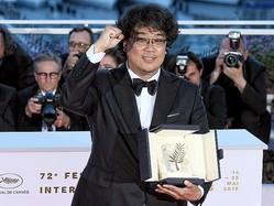 『パラサイト 半地下の家族』ポン・ジュノ監督。パルムドールを受賞したカンヌ国際映画祭で