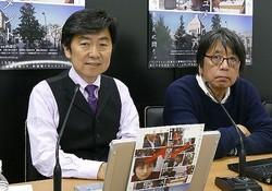 森達也監督と笠井信輔氏
