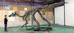 新種恐竜「カムイサウルス・ジャポニクス」と命名者の小林快次氏