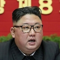 北朝鮮・平壌で朝鮮労働党大会に出席する金正恩(キム・ジョンウン)朝鮮労働党委員長。朝鮮中央通信提供(2021年1月8日撮影、9日公開)。(c)AFP PHOTO/KCNA VIA KNS