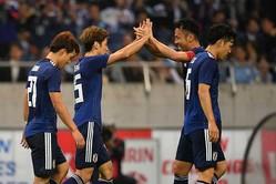 日本代表がウルグアイ代表に4-3で勝利した【写真:Getty Images】