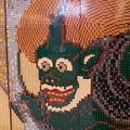 認定プロビルダーが作ったレゴの風神雷神図屛風 感動的な出来栄え