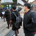 韓国で大学入試 感染者も試験