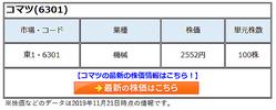 株価 コマツ の 世界的企業!小松製作所(コマツ)(6301)の今後の株価を分析