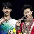 ネイサン・チェンと羽生結弦【写真:Getty Images】