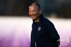 ラグビーW杯日本大会でイングランドを準優勝に導いたエディー・ジョーンズHC(2019年10月23日撮影)。(c)CHARLY TRIBALLEAU / AFP