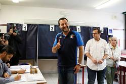 イタリアの欧州議会選、与党同盟が首位 五つ星は苦戦=出口調査