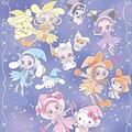 左が「みんなで仲良く!おジャ魔女アニバーサリー☆」デザイン、右が「ファンシーポップ」デザイン(C)東映アニメーション (C)1976,1996,1998,2001,2005,2020 SANRIO CO.,LTD.