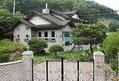 家宅捜索が行われた「平和と癒やしが出会う家」=5日、安城(聯合ニュース)