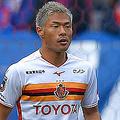 2得点を奪った名古屋グランパスFW赤崎秀平(写真は3月17日のもの)
