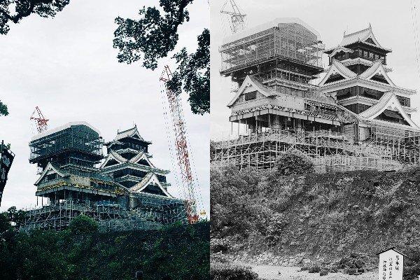 この姿は今しか見られない 復旧工事中の熊本城が想像以上にクールだった