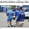 7年間逃亡もYouTubeがきっかけで逮捕された男(画像は『The Washington Post 2021年3月30日付「For years, a mafia fugitive hid from police. Then they spotted his Italian cooking videos on YouTube.」(Italian State Police Press Office)』のスクリーンショット)