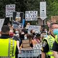 人種問題のデモは全米各地で行われているが(C)ロイター