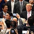 トランプ大統領が訪れた両国国技館にいたしみけん 現場の様子を語る