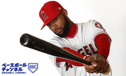 TEMPE, ARIZONA - FEBRUARY 19: Jo Adell #59 poses for a portrait during Los Angeles Angels of Anaheim photo day on February 19, 2019 in Tempe, Arizona. (Photo by Jamie Squire/Getty Images)