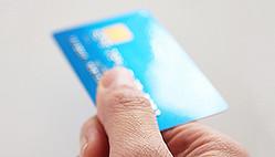 公共料金はクレジットカードで支払うことができる
