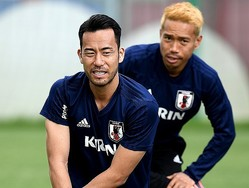 日本代表として帰国した吉田、そして長友が鹿島で再会したのは…。 (C) Getty Images