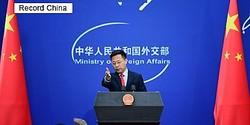 中国外交部の趙立堅報道官は27日、日本の新型コロナウイルス対策を積極的に支援する考えを示した。資料写真。