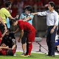 9月の対戦では、目の前で時間稼ぎをするベトナムの選手たちに珍しくエキサイトした西野監督。ハノイでの第2ラウンドはどんな戦いとなるのか。(C)Getty Images