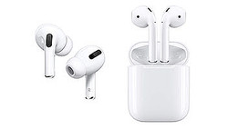 AirPods Pro(左)、AirPods with Charging Case(右)