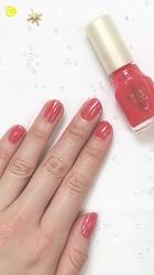 【ちふれ】ネイル511を塗ってみた♡ピンクグレープフルーツ