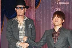 コブクロ、黒田俊介(左)と小渕健太郎