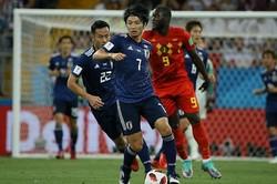 試合をコントロールできなかったことへの後悔を語る一方で、4年後のワールドカップへの意欲ものぞかせた。写真:JMPA代表撮影(滝川敏之)