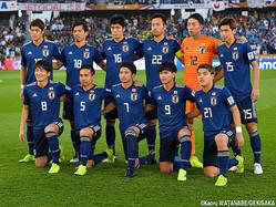 日本代表は27位浮上でアジア2番手