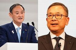 村井チェアマンが菅官房長官と意見交換 PCR検査でクラブハウス使用の可能性を提案
