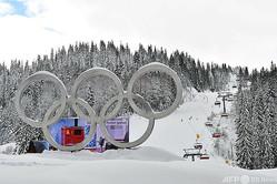 1984年に冬季五輪の会場となったボスニア・ヘルツェゴビナの首都サラエボ近郊、ヤホリナ山のスキー場(2019年1月30日撮影)。(c)ELVIS BARUKCIC / AFP