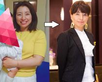 月曜断食で15キロ減したロボ子さん。 (左)ビフォー写真:(2017年)64キロで体脂肪率34% (右)アフター写真:(2020年)49.6キロで体脂肪率24%