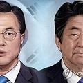 韓日の国民が相手国の首脳に対して否定的な印象を持っていることが明らかになった(イラスト)=(聯合ニュース)