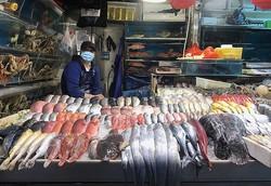コロナウイルスが検出された北京の新発地市場(写真/共同通信社)