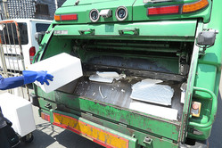 ゴミ収集中の暴言は多いのか